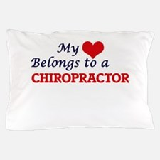 My heart belongs to a Chiropractor Pillow Case