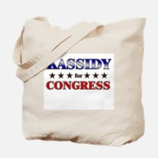 KASSIDY for congress Tote Bag