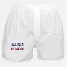 KASEY for congress Boxer Shorts