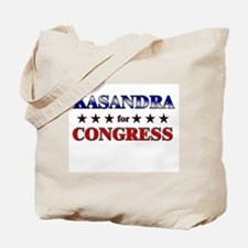 KASANDRA for congress Tote Bag