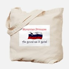 Slovenian Princess Tote Bag