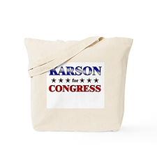 KARSON for congress Tote Bag