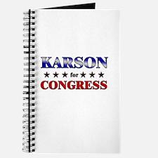 KARSON for congress Journal