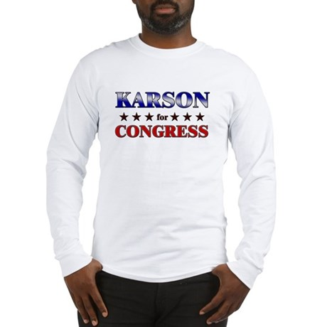 KARSON for congress Long Sleeve T-Shirt