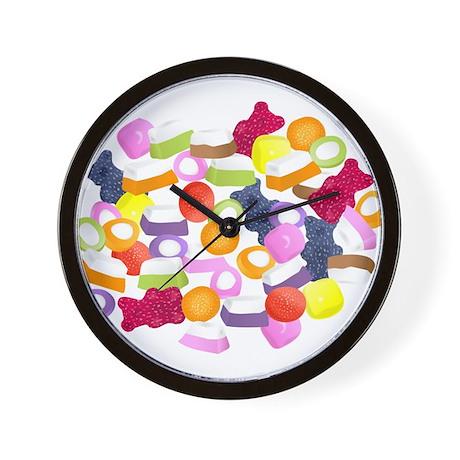Dolly Mixtures Wall Clock
