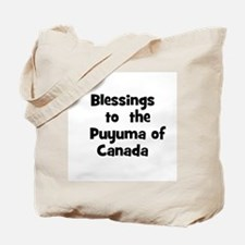 Blessings  to  the  Puyuma of Tote Bag