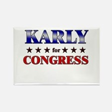 KARLY for congress Rectangle Magnet