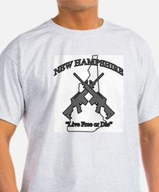 """New Hampshire """"Live Free or Die"""" T-Shirt"""