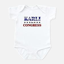 KARLI for congress Infant Bodysuit