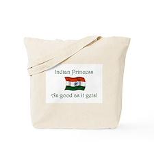Indian Princess Tote Bag
