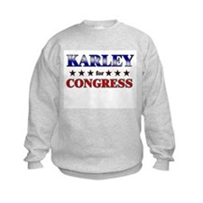 KARLEY for congress Jumpers