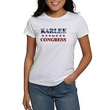 KARLEE for congress Tee