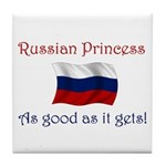 Russian Princess Tile Coaster