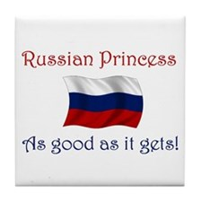 Russian Princess Tile Coaster