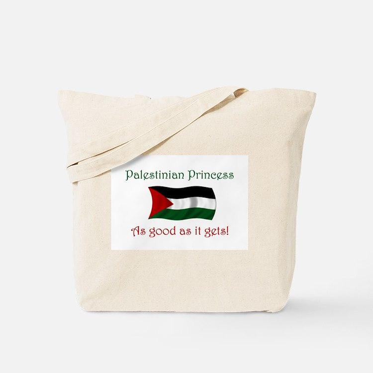 Palestinian Princess Tote Bag