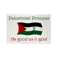 Palestinian Princess Rectangle Magnet