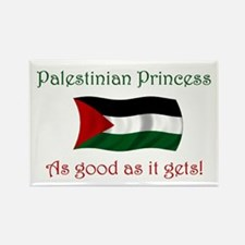 Palestinian Princess Rectangle Magnet