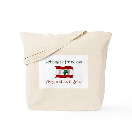 Lebanese Princess Tote Bag