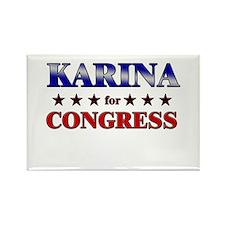 KARINA for congress Rectangle Magnet (10 pack)