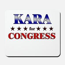 KARA for congress Mousepad