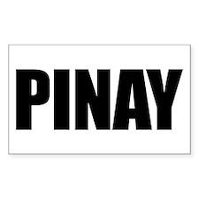 Pinay (Sticker Rectangular)