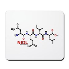 Neil name molecule Mousepad