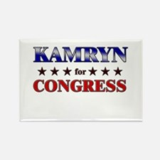 KAMRYN for congress Rectangle Magnet