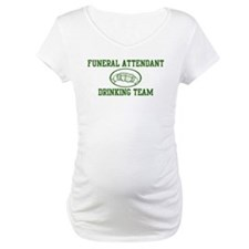 Funeral Attendant Drinking Te Shirt