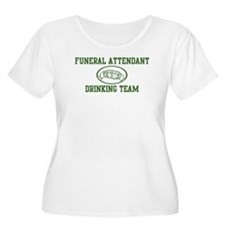 Funeral Attendant Drinking Te T-Shirt