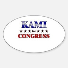 KAMI for congress Oval Decal