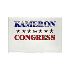 KAMERON for congress Rectangle Magnet