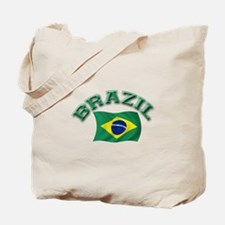 Brazil Flag Tote Bag