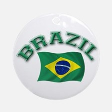 Brazil Flag Keepsake Ornament