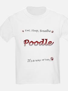 Poodle Breathe T-Shirt