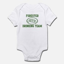 Forester Drinking Team Infant Bodysuit