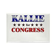 KALLIE for congress Rectangle Magnet