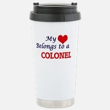 My heart belongs to a C Travel Mug