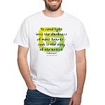 Duty of the Artist II White T-Shirt