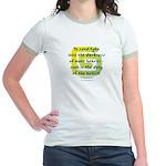 Duty of the Artist II Jr. Ringer T-Shirt