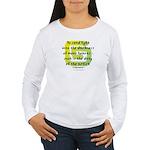 Duty of the Artist II Women's Long Sleeve T-Shirt