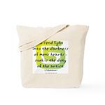 Duty of the Artist II Tote Bag