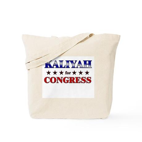 KALIYAH for congress Tote Bag