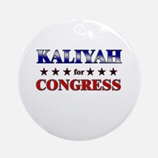 KALIYAH for congress Ornament (Round)