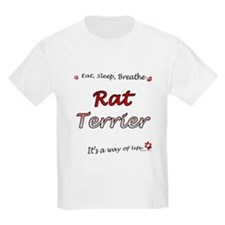 Rat Terrier Breathe T-Shirt