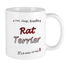 Rat Terrier Breathe Mug