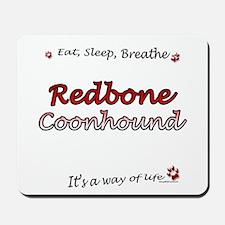 Coonhound Breathe Mousepad