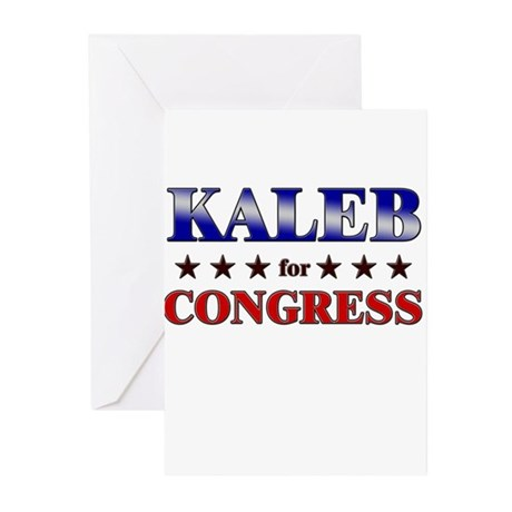 KALEB for congress Greeting Cards (Pk of 20)
