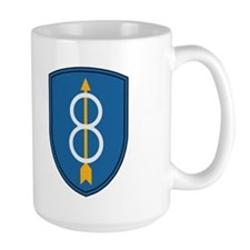 8th Infantry Division<BR> 15 Ounce Mug 1