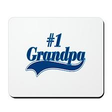 #1 Grandpa Mousepad