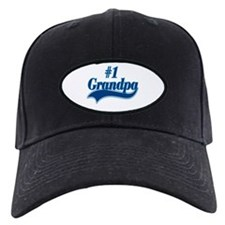 #1 Grandpa Baseball Hat